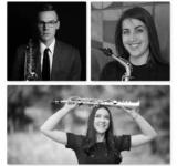 Nathan Mertens, Elizabeth Rosinbum and Jessica Voigt-Page