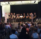 Love Music Trust Saxophone Orchestra, Jamie Sharp - conductor